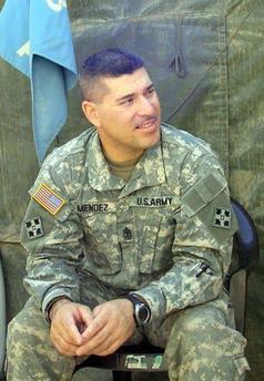 1st Sgt. BOBBY MENDEZ 1