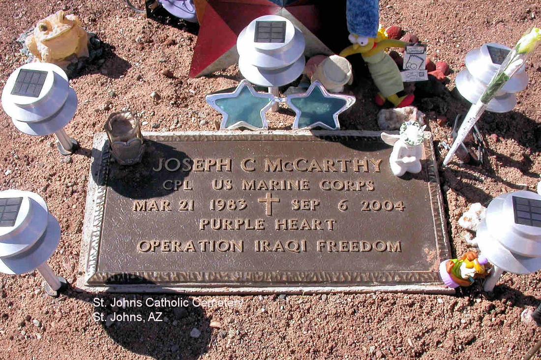 Cpl Joseph C. McCarthy 3