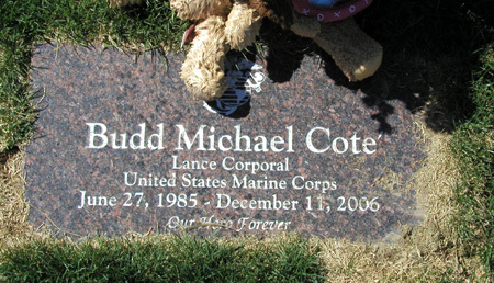 LCpl Budd M. Cote 4