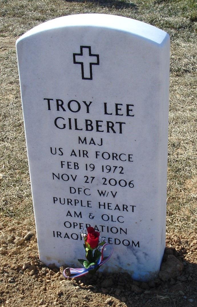 Maj Troy L. Gilbert 2