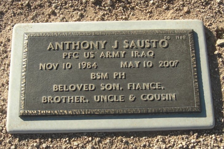 PFC Anthony J. Sausto 5