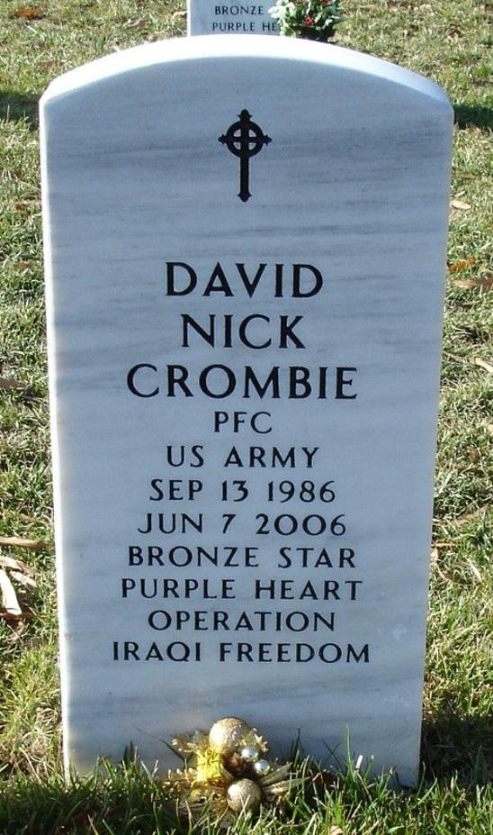 PFC David N. Crombie 2