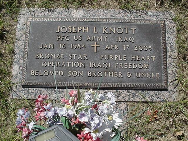 PFC Joseph L. Knott 2
