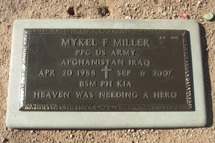 PFC Mykel F. Miller 5