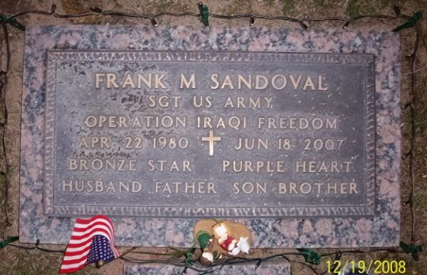 SGT Frank M. Sandoval 2