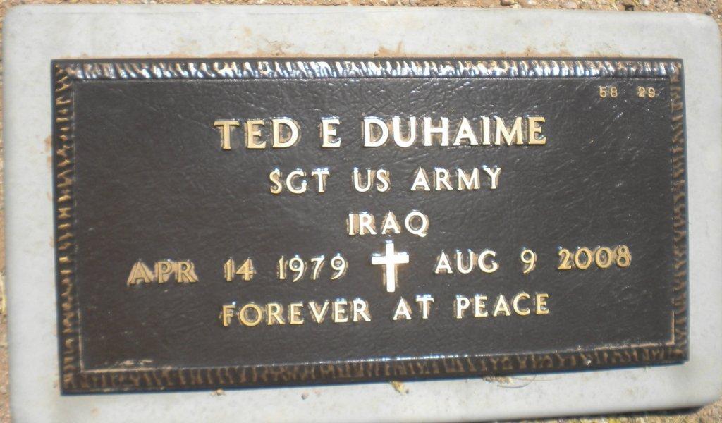 SGT Ted E. Duhaime 2