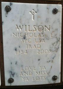 SPC Nicholas E.Wilson 2