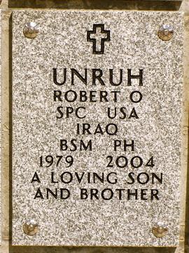 SPC Robert O. Unruh 2
